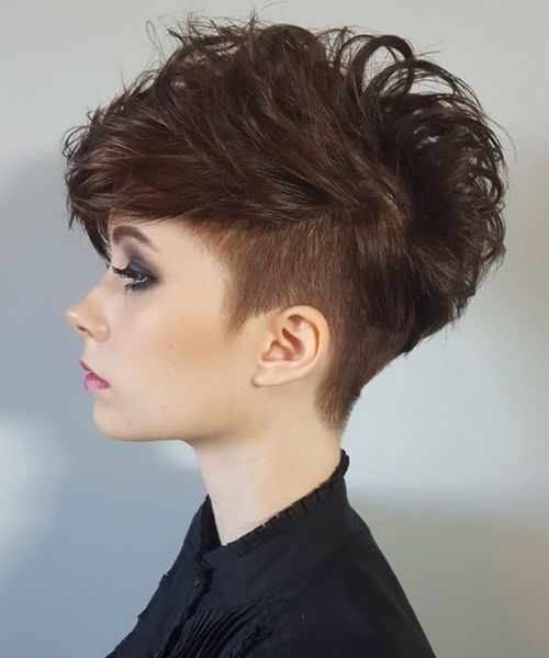 Chic Short Curly Haircuts 2017 2018 For Women New Hairstyles