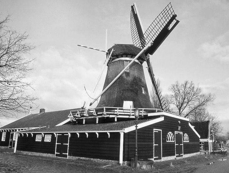 Krijtmolen De Admiraal, Amsterdam-Noord