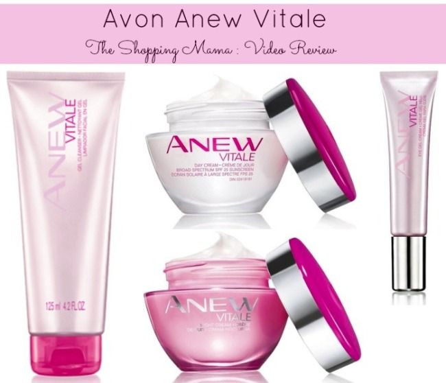 Beauty Review : Avon Anew Vitale {VIDEO} | The Shopping Mama #AvonAnewVitale #BeautyReview #Avon #AntiAging #BeautyRegime #Beauty