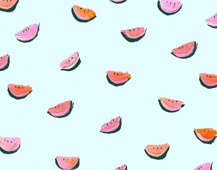 Explore Watermelon Wallpaper Pattern Designs And More