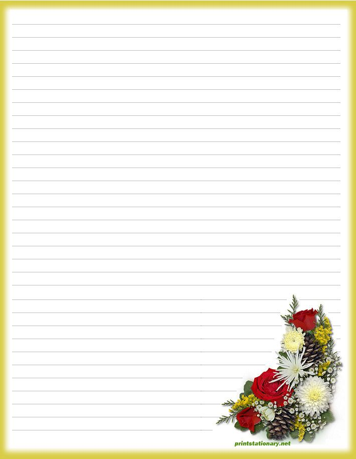 Printable Lined Paper Sample Notebook Paper Template Printable