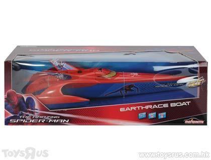 The Amazing Spider Man Spiderman Rc Boat Speeder Rtr Super Heroes