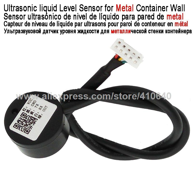 Info Chinasmartsensor Com Ultrasonic Liquid Level Detector Liquid Level Sensor For Metal Container Wall Used For Speci Level Sensor Metal Containers Ultrasonic