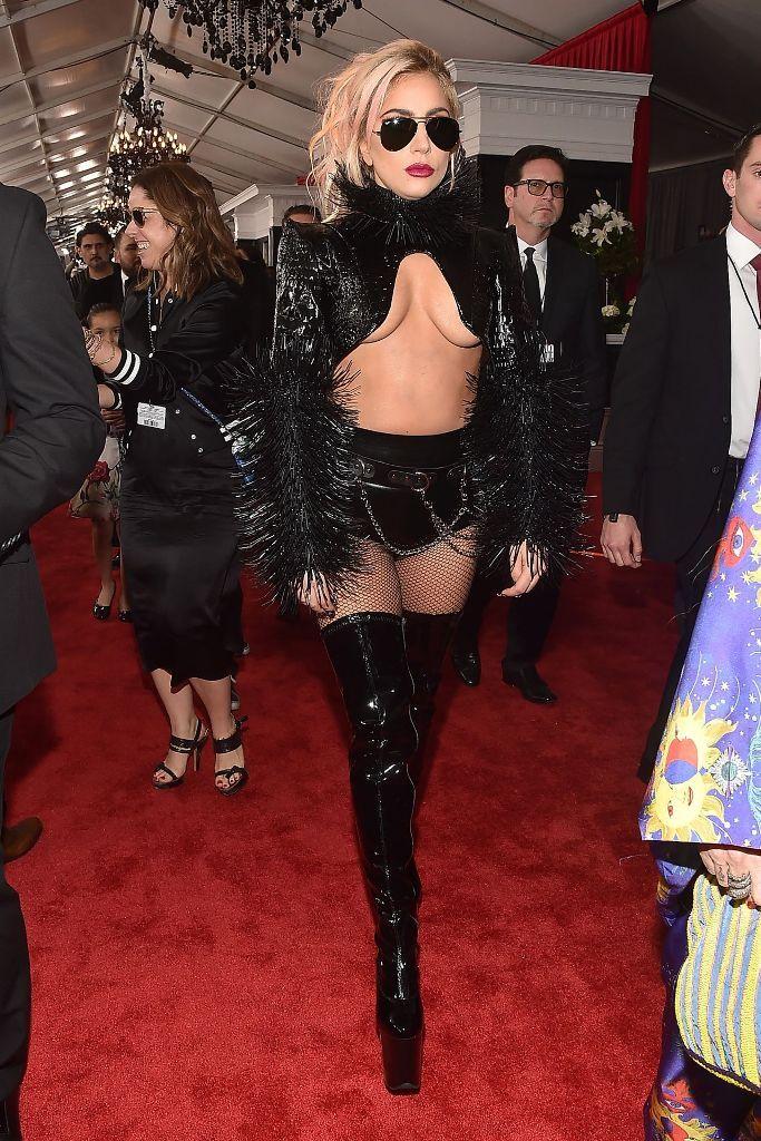 fd2057f0481c Lady Gaga at 2017 Grammy Awards.  redcarpet  grammyawards  grammys   glamorous  awardsseason  celebrity  fabfashionfix  ladygaga