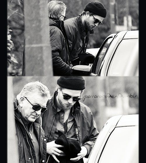 Rob and his dad Richard...