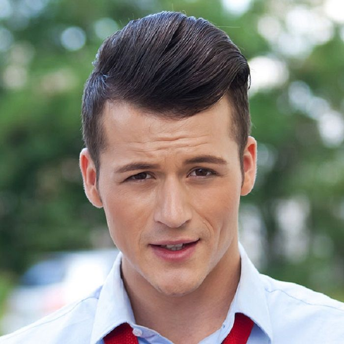 men�s pompadour haircut 2014 pictures how to get
