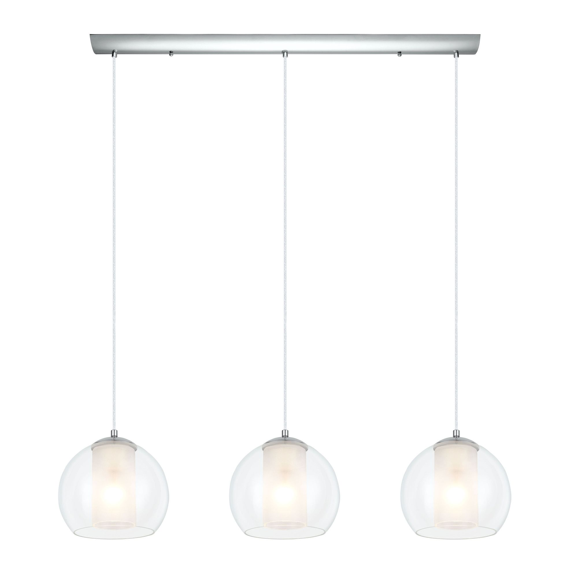 EGLO Bolsano Light Kitchen Island Pendant AllModern Lighting - Three light pendant kitchen