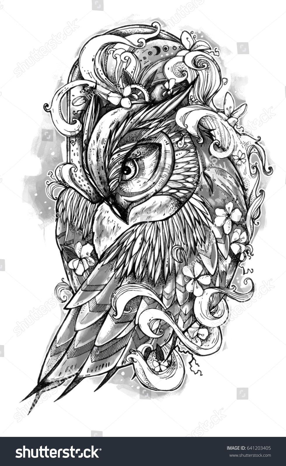 Tattoo Owl Tattoo Owl Tattoo Drawings Tattoos