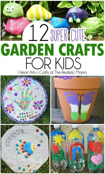 Pin By Amanda Walters On Crafts Pinterest Garden Crafts For Kids