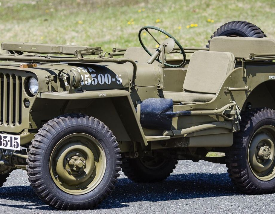 A few Willys Jeeps in high res (57 HQ Photos)