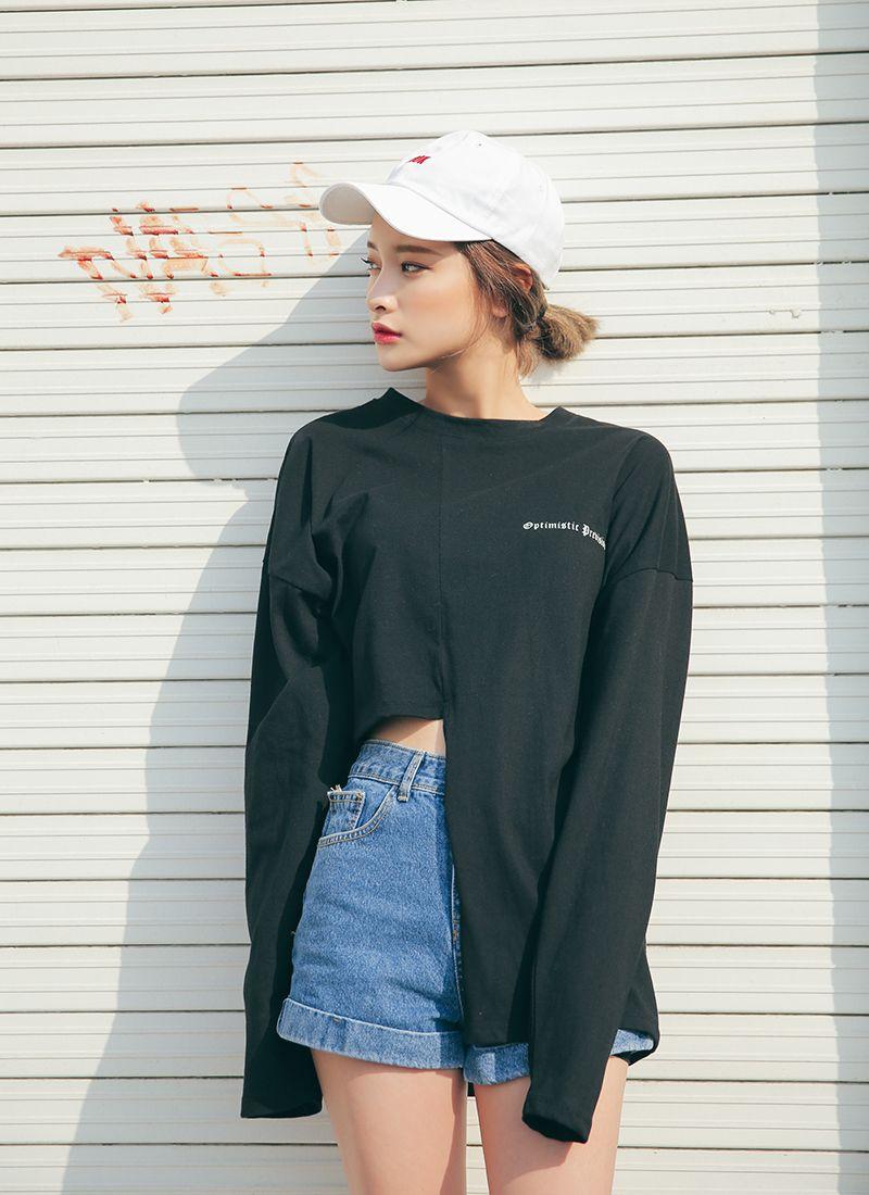 plain korean girl outfits tumblr 12
