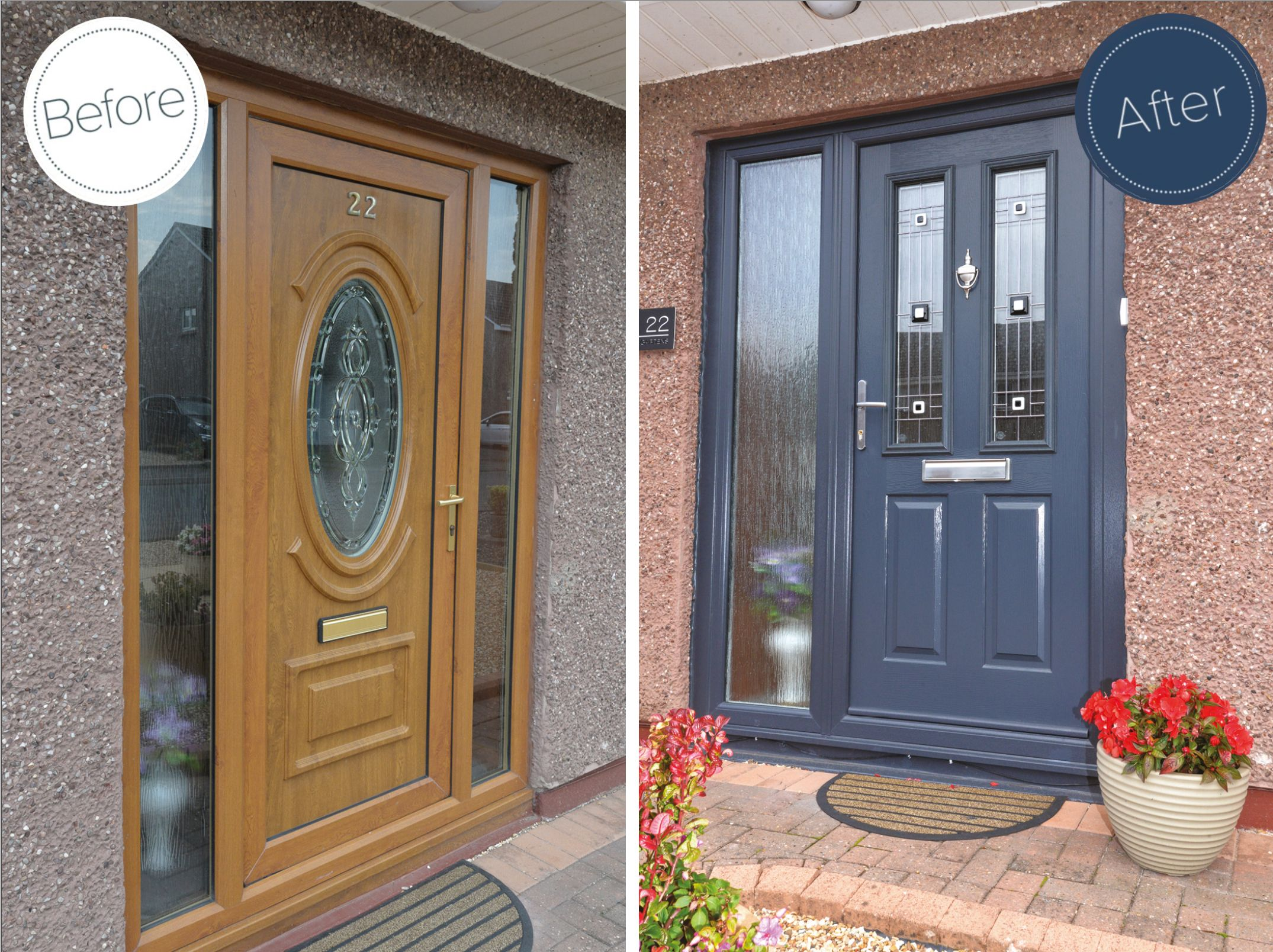 Having Enjoyed Cr Smith S Great Service And Quality Products In The Past This Kirkcaldy Household Came Straight Ba French Doors Patio French Doors Front Door