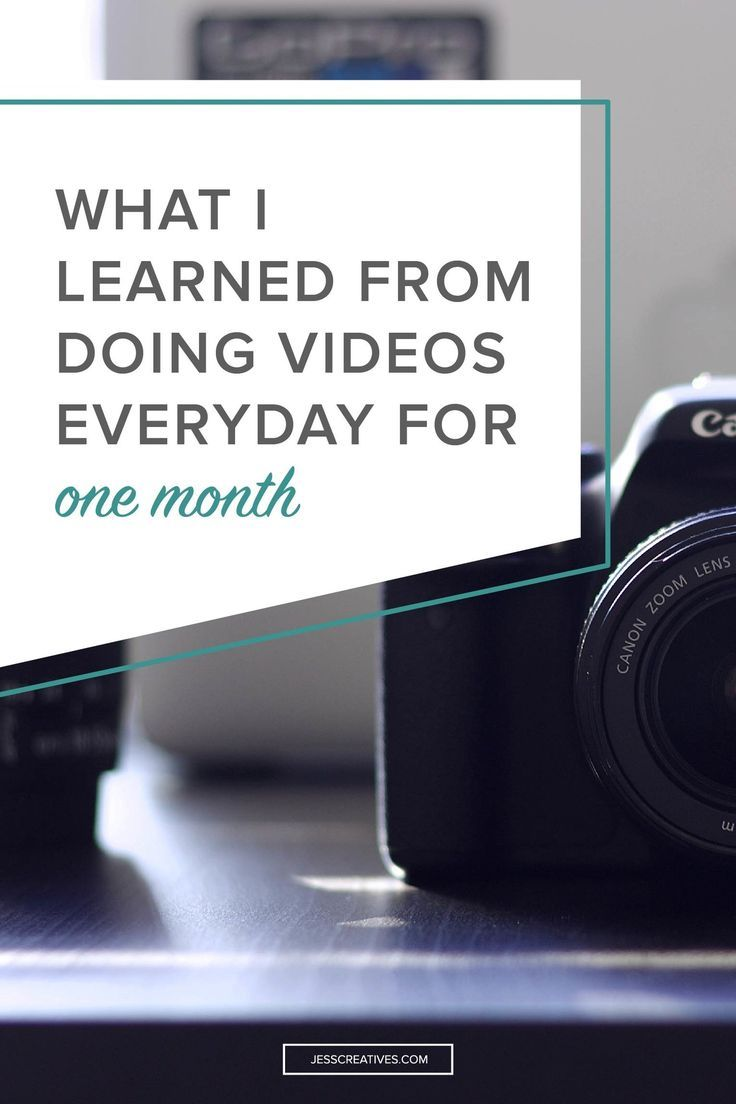 31 days. It doesn't sound thaaaat long, right? There are a lot of challenges out there for entrepreneurs – monthly Instagram challenges, quarterly income challenges, etc. In August, I decided to participate in #SSSVEDA – Video Everyday in August, put on by Amy Schmittauer.