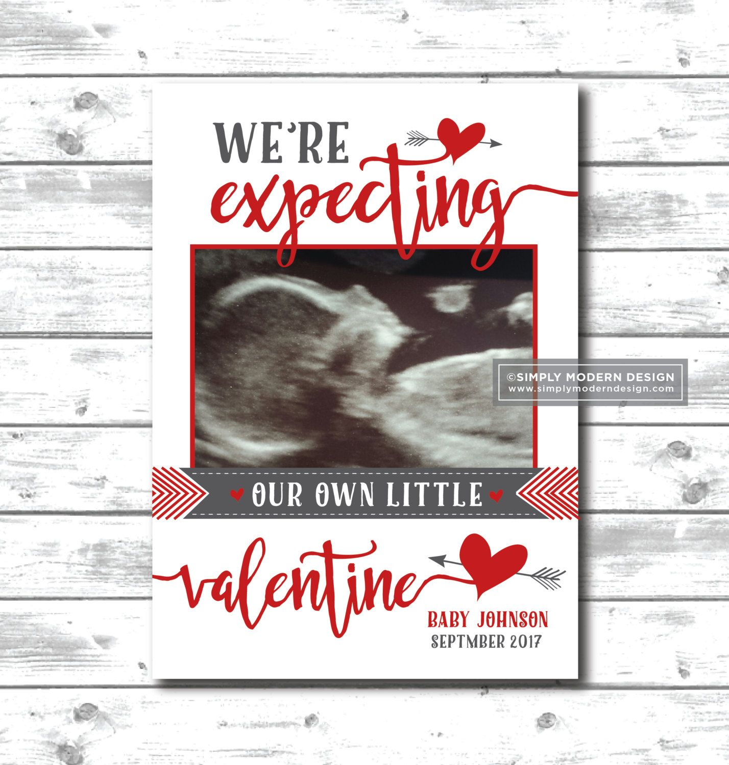 Valentines Day Pregnancy Announcement Expecting February Pregnancy