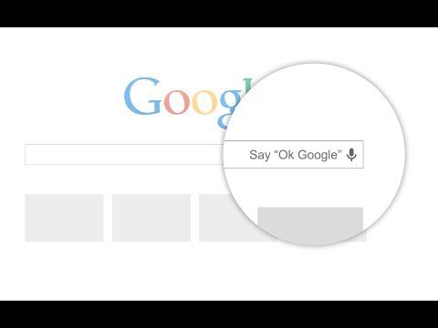"""Now you can say """"OK Google"""" on the desktop to ask your"""