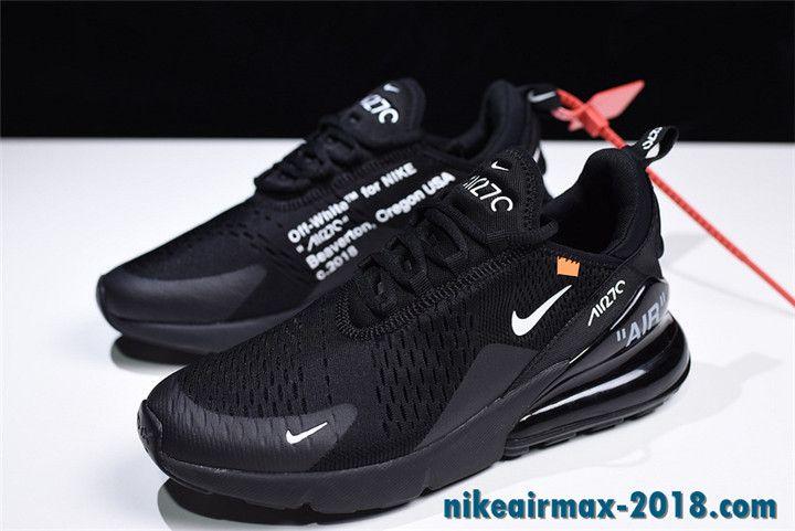OFF WHITE x Nike Air Max 270 Summer Mens Sneaker Black