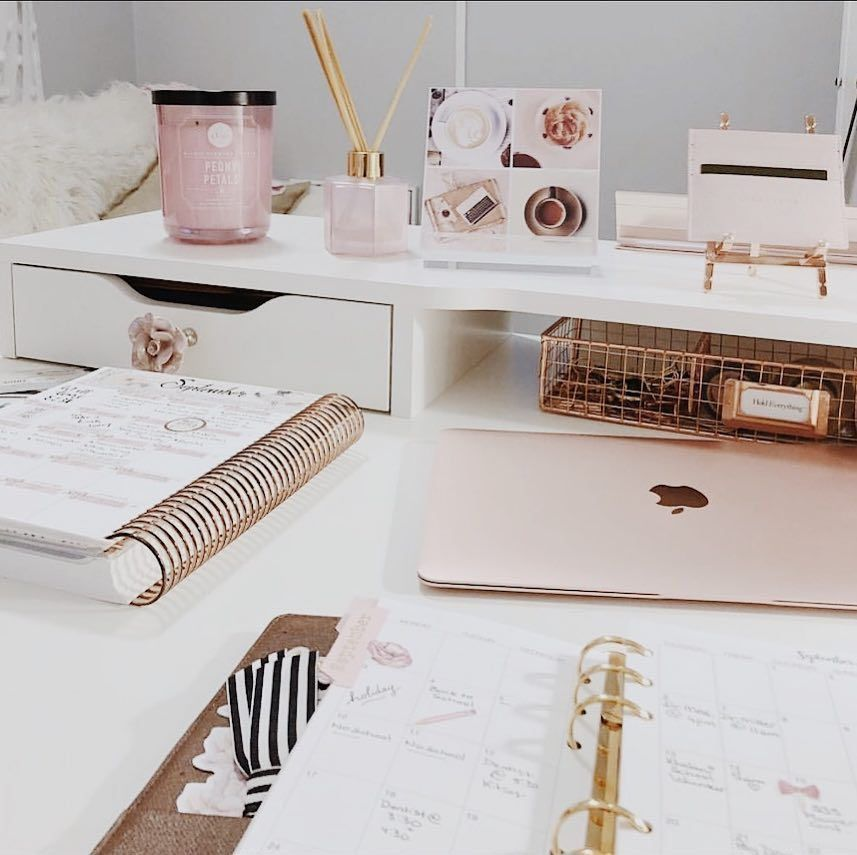 7 Home Office Ideas That Will Make You Reassess Your Work Space Girly Office Home Office Design Pink Office