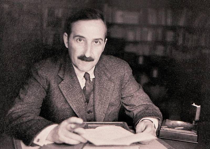 Stephan Zweig Writer Novelist Austrian 1881 1942 Writing