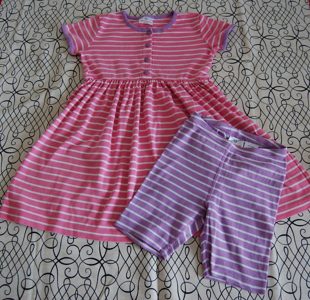 US 6-7 NEW Hana Andersson Girls Summer Dress Size 120