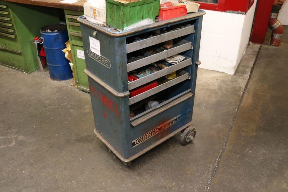 Gedore Adjutant Tool Trolley De Segunda Mano En Venta En Surplex De Segunda Mano Articulos De Segunda Mano Manipulacion