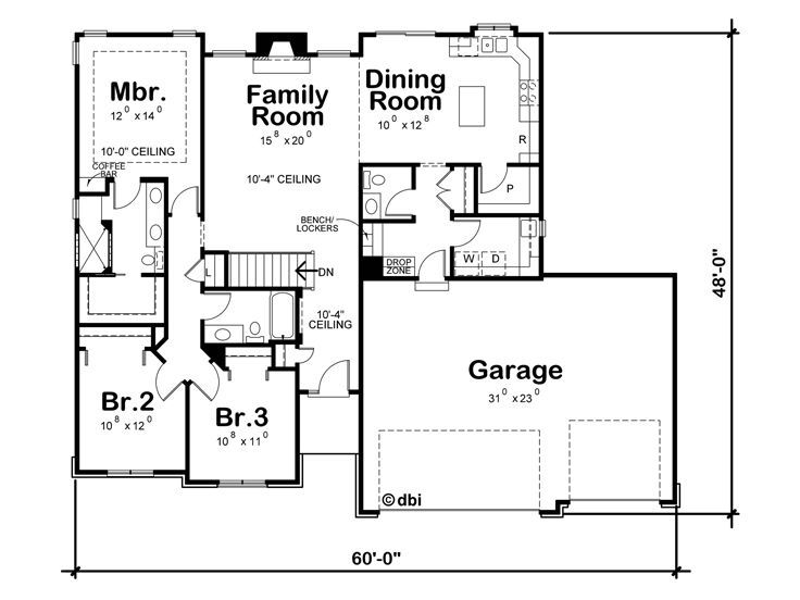 Ranch House Plans Country Style House Plans Rambler House Plans Ranch House Plans