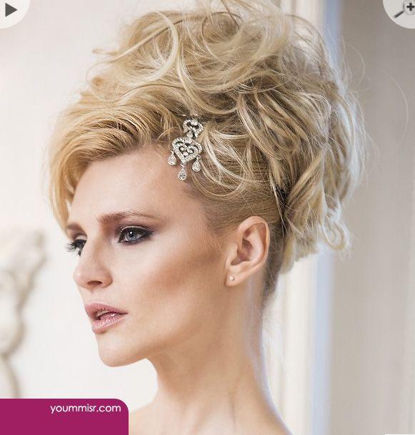 اجمل تسريحات شعر للعرائس 2016 بالتاج لبنانية انستقرام Hair Styles Blonde Wavy Hair Latest Hairstyles