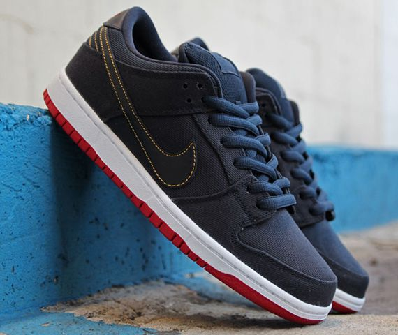 the best attitude e95a5 d5a80 Levis x Nike Collaboration - Nike Dunk Lo Pro (Dark Obsidian) also comes  in Black Denim