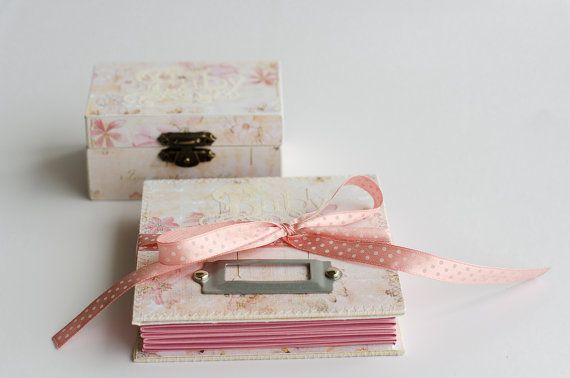 Personalized baby gift set accordion style mini album and wooden personalized baby gift set accordion style mini album and wooden keepsake box baby shower negle Images