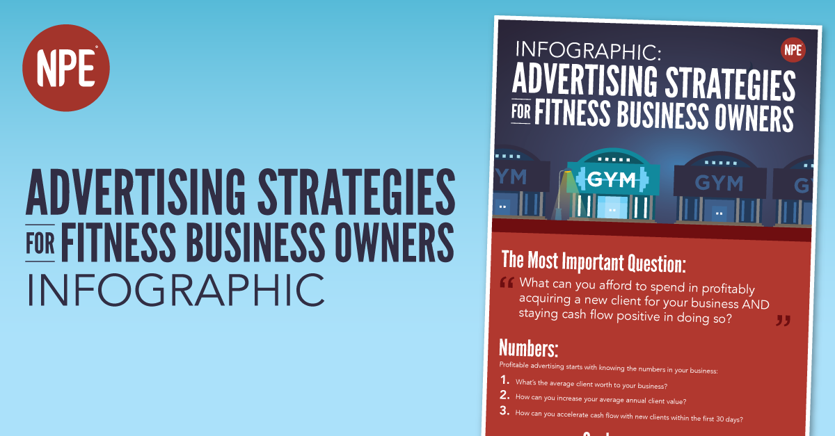 [INFOGRAPHIC] Advertising Strategies for Fitness Business