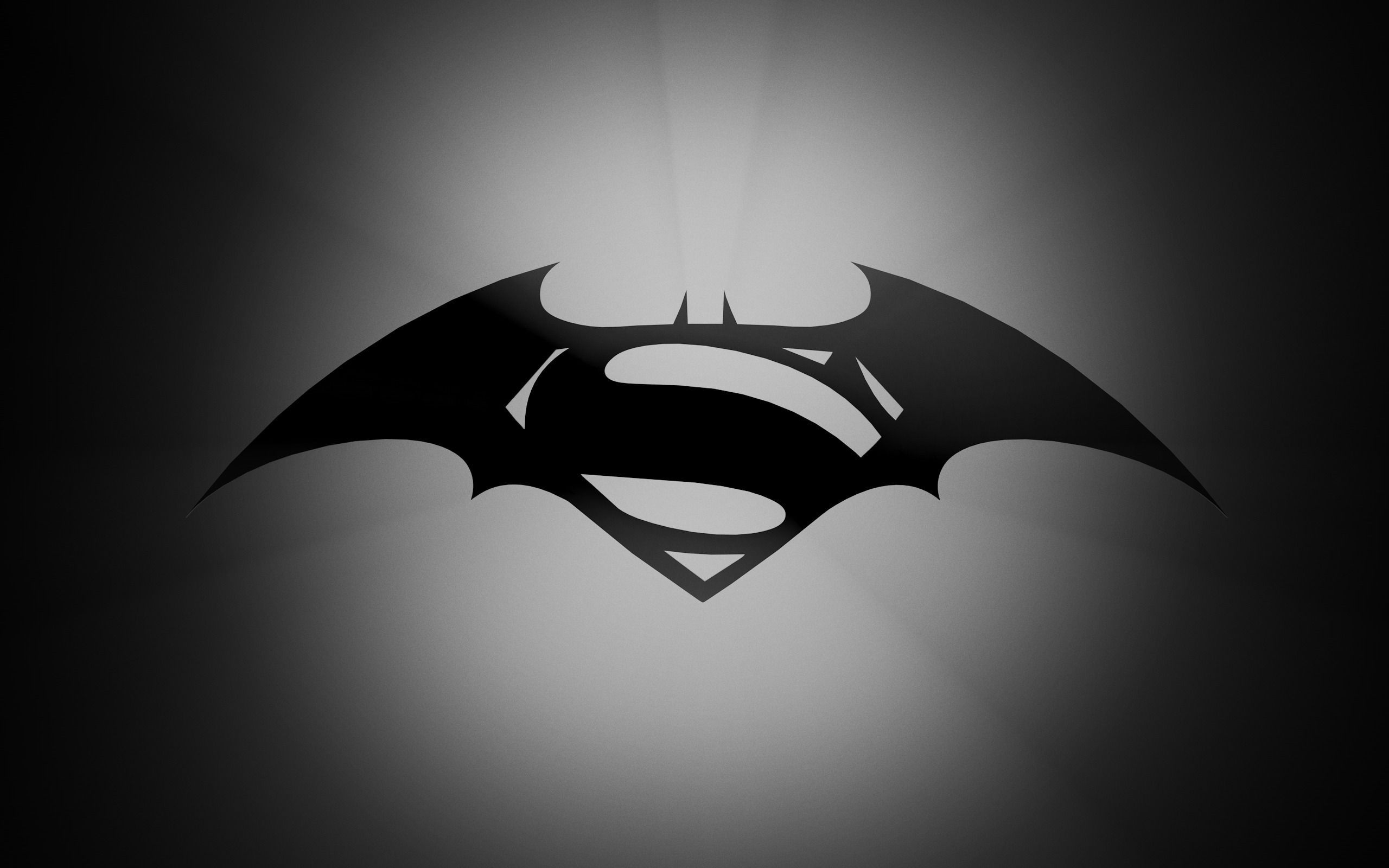 Batman Vs Superman Movie Logo Wallpaper
