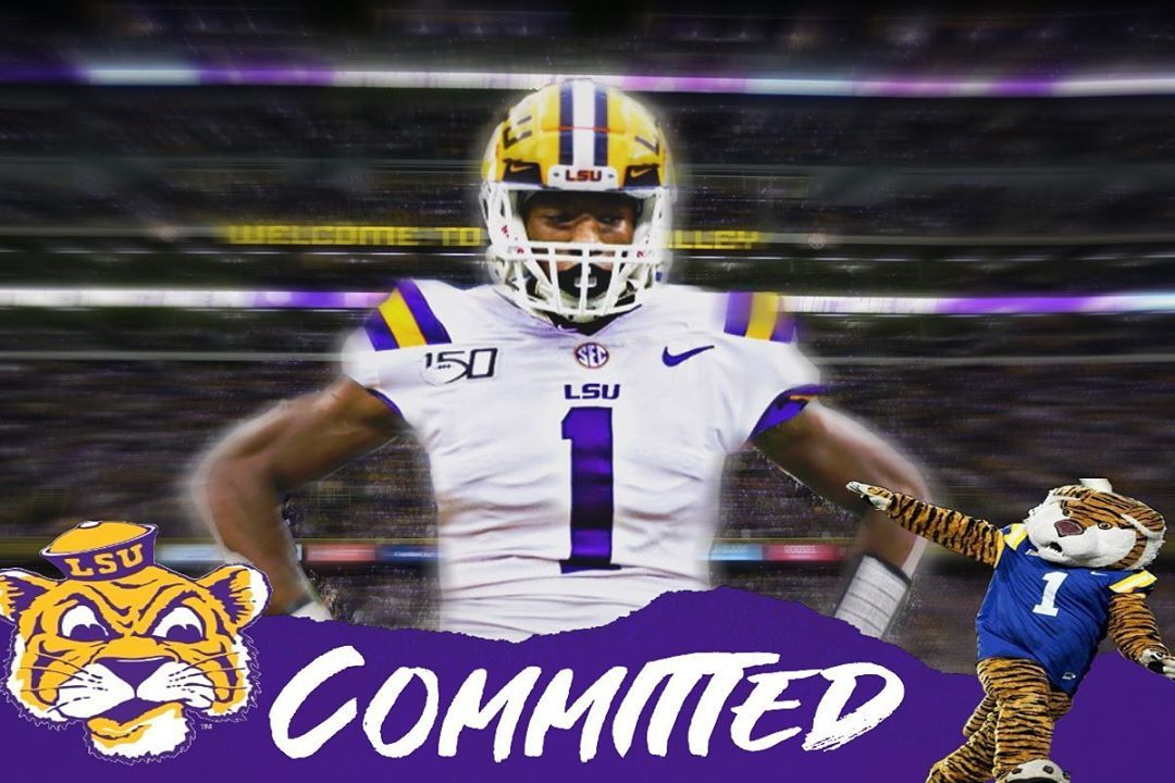 Lsu Sports 1 6k On Instagram Hold That Tiger Chris Hilton Has Just Committed To Lsu This Is A Huge Pick Up Football Helmets Lsu Football