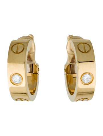 Cartier Diamond Love Earrings Cartier Earrings Cartier Earrings