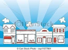 Image result for line drawings of shops