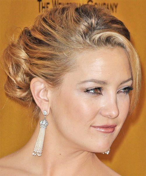 Kate Hudson Long Curly Updo Hair