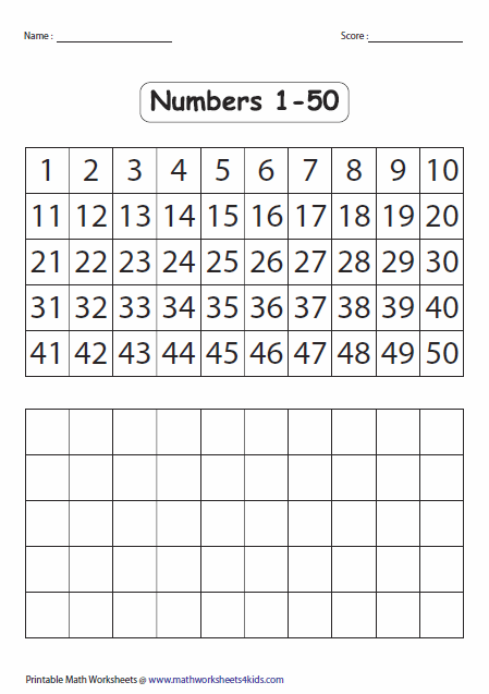 Fill in the blank number chart best images of also rh pinterest