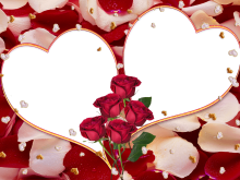 Marco Para Foto Corazon Rojo Valentine Day Photo Frame Free Photo Frames Flowery Wallpaper