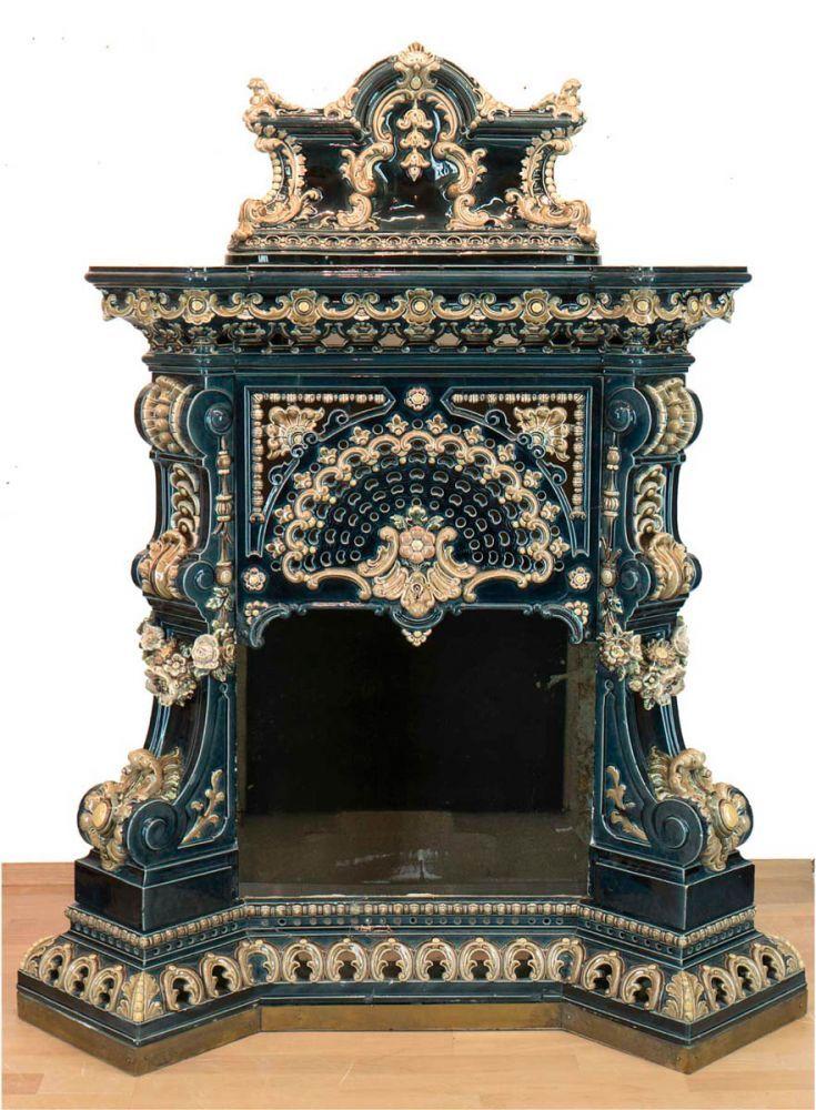 Kamine Dresden kamin villeroy boch dresden keramik mit seitlichen metallgittern