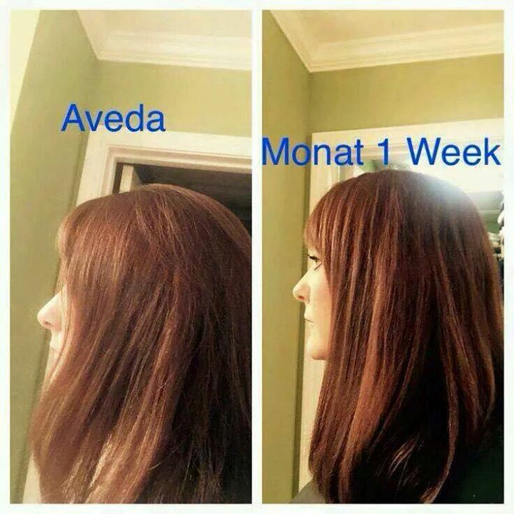 564971a154a Before and After using Monat hair care line! | monat | Monat hair ...