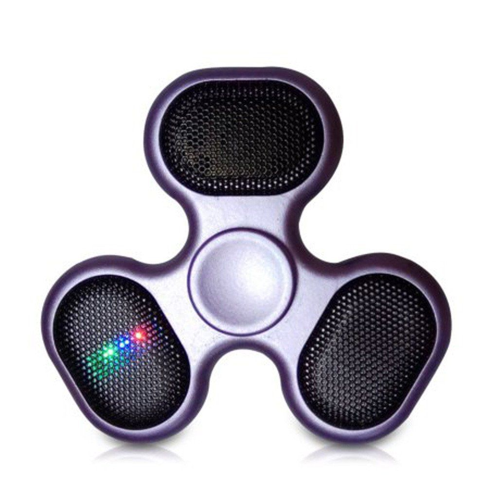 fun unique bluetooth speakers. Featuring DJ the fun  fast fidget spinner Packed with wireless bluetooth speakers and LED lights even gives you complete control over your tunes
