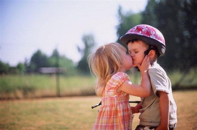 first kiss, and it's yucky!