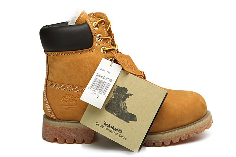 Yellow Timberland Womens Boots Wheat Black,Fashion Winter ...
