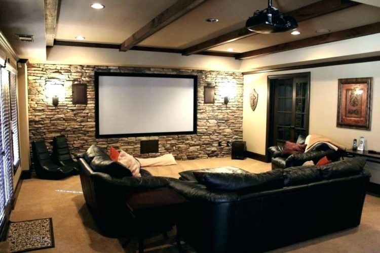 20 Beautiful Basement Apartment Ideas Small Media Rooms Basement Movie Room Home Theater Rooms