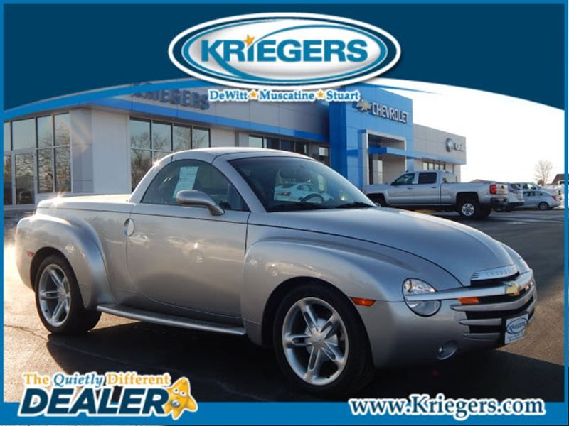 used 2004 chevrolet ssr ls for sale in dewitt kriegers of dewitt dewitt iowa 1gces14p54b108122 chevrolet ssr chevrolet dewitt iowa pinterest