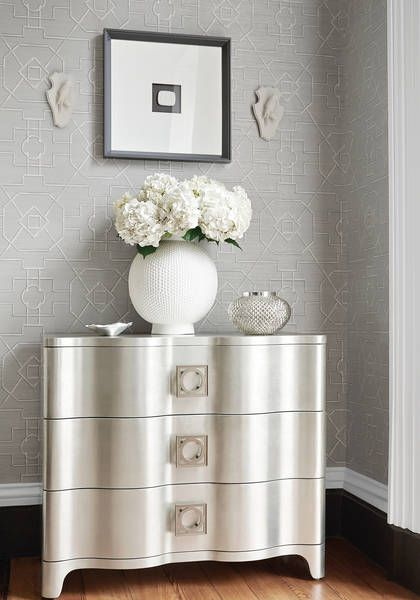 thibaut grasscloth wallpaper i nice alternative to painted walls for my bathroom home. Black Bedroom Furniture Sets. Home Design Ideas