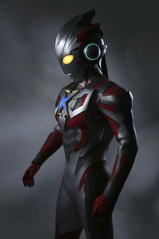 Ultraman X Animasi Kartun Dan Karakter Animasi