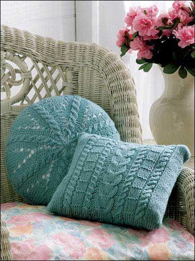 kissen home pinterest kissen stricken h kelkissen und stricken und h keln. Black Bedroom Furniture Sets. Home Design Ideas
