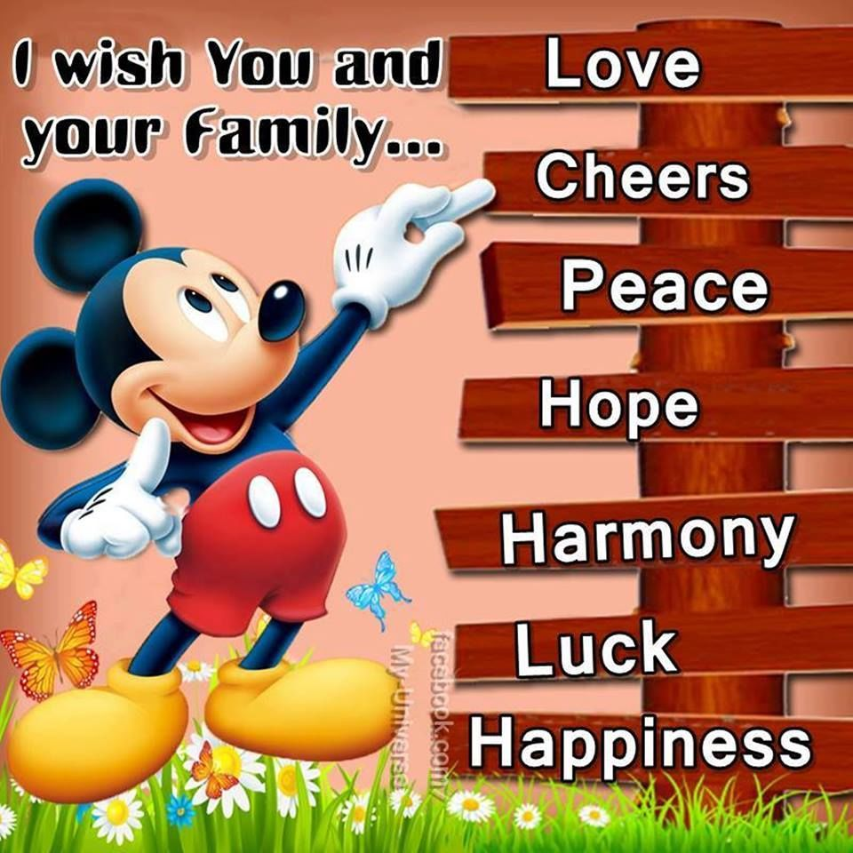 I wish you and your family love quotes peace life wishes