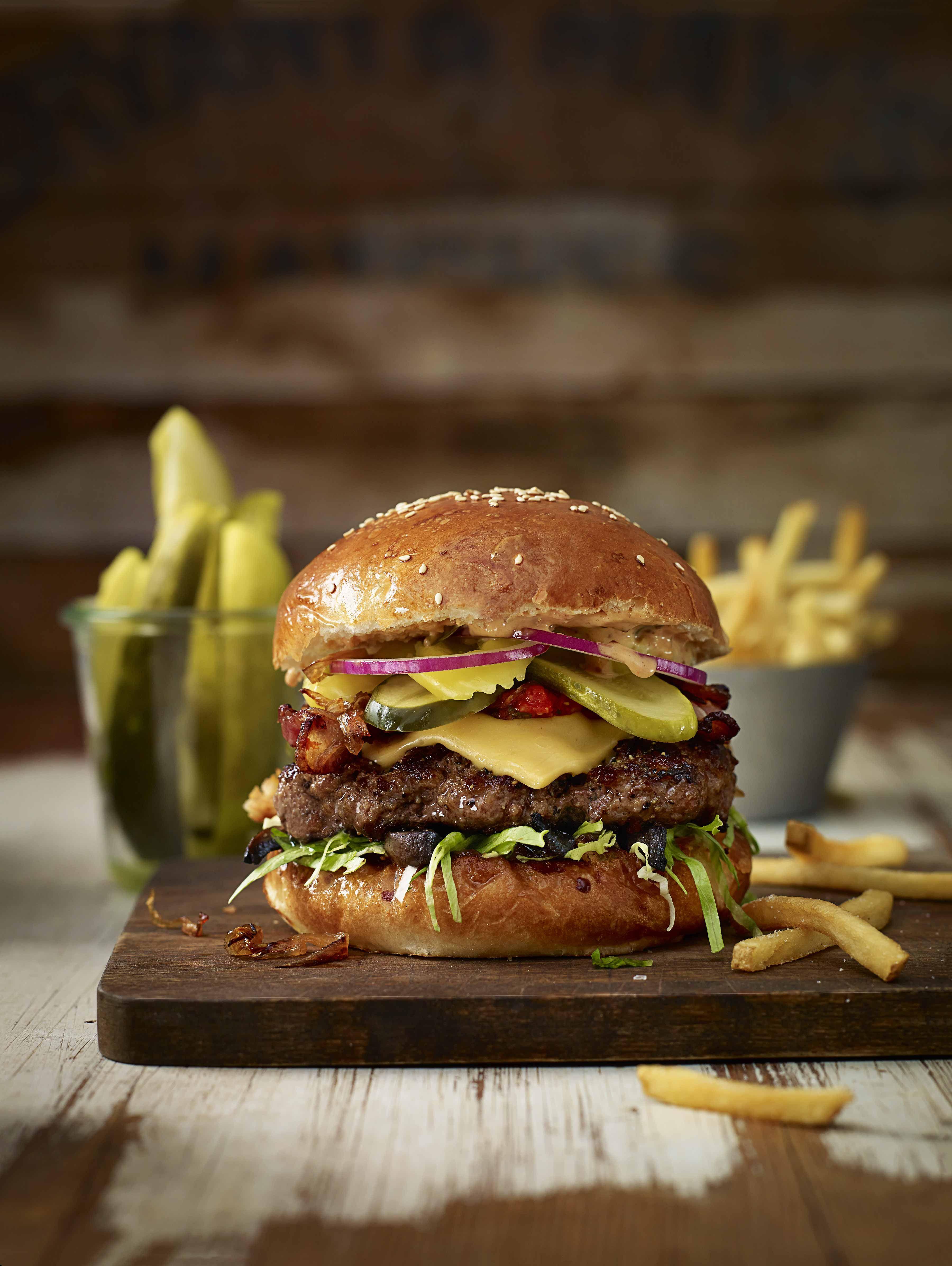 Pin on Burger