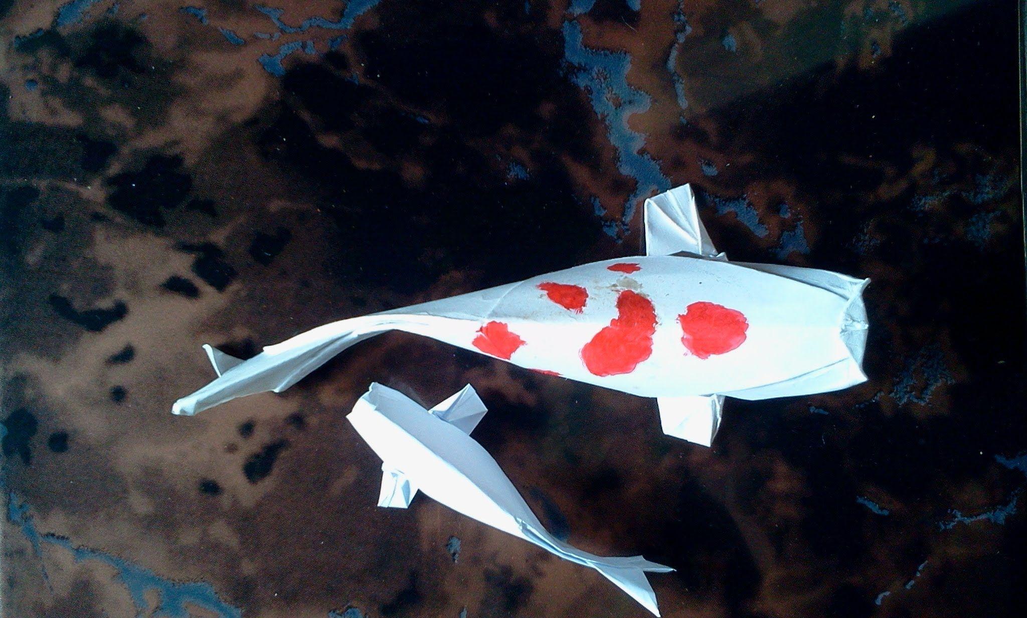 How to make Origami Fish Koi   Origami - Origami fish ... - photo#35