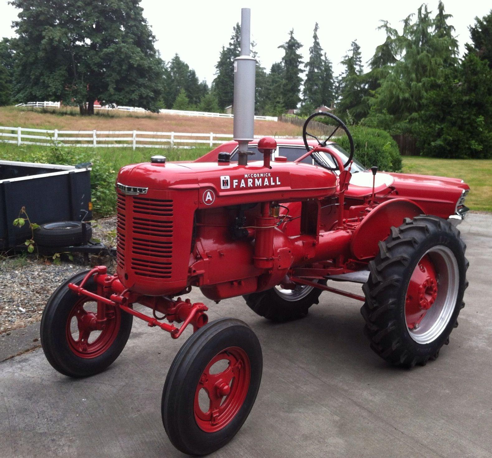 Fully Restored 1940 Farmall A Tractor Tractors Farmall Tractors Farmall